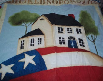 American fabric panel