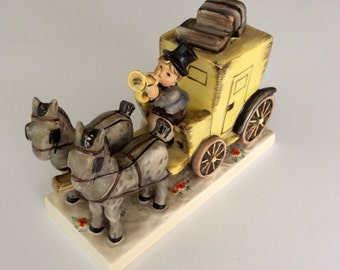 """Goebel Hummel """"The Mail is Here"""" #226 1952"""
