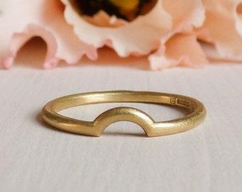 Macha 18ct Fairtrade Gold Wedding Ring
