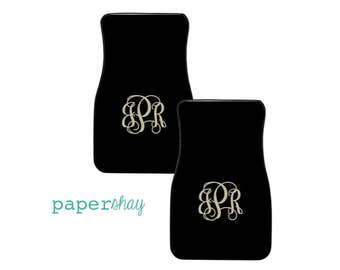 Personalized Car Mats - Monogrammed Car Mats - Floor Mats Personalized - Custom Car Floor Mats - Car Accessories - New Driver Gift