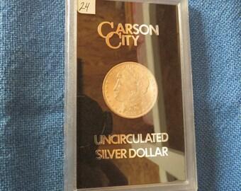 1881 Carson City  MS65 ( Closed cc )  Morgan Silver Dollar