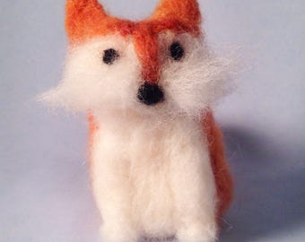 Small red fox figurine