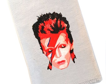 David Bowie Tea Towel Ziggy Stardust