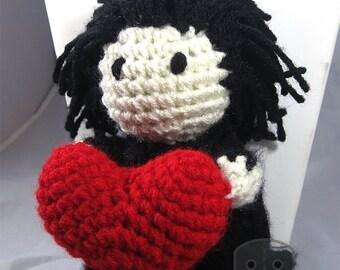Valentine Harry Potter Inspired Snape Heart Plush