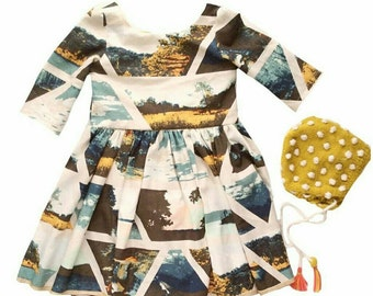 Baby girl Christmas dress Holiday dress Toddler Christmas dress Toddler holiday dress Hipster kids Clothes Baby dress Baby leggings