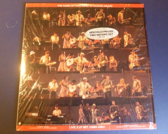 Talking Heads Live 2 LP Set 1980-1981 Vinyl Record 2SR 3590