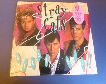 Stray Cats Blast Off Vinyl Record E1-91401 EMI Records 1989