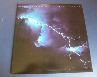Dire Straits Love Over Gold Vinyl Record 23728-1 Warner Bros. Records 1982