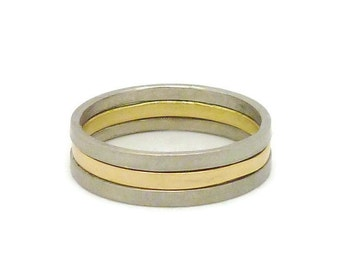 Bicolour Gold Ring