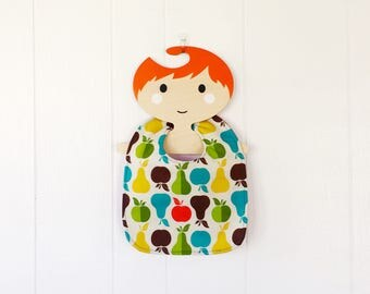 Baby Bib retro fruit 5 months and up