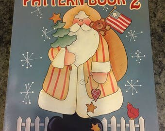 Pattern Book 2 by Pat Olson, acrylic painting pattern book tole painting book decorative painting patterns