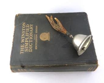 Vintage BONE/ANTLER BELL