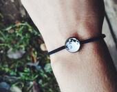 Full Moon Bracelet Moon Jewelry Solar System Bracelet Jewelry Glass Dome BraceletMen Jewelry Gift For Him Her For Teen Boy Christmas Gift