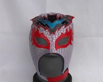 Blood Fest Wrestling Mask Mardi Gras day of the dead halloween party masks Horror masquerade Lucha Libre