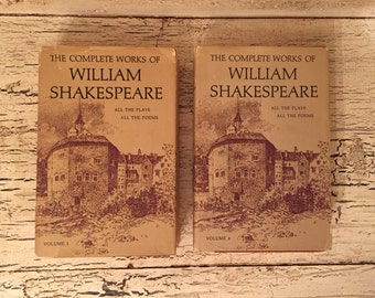 The Complete Works of William Shakespeare - 2 Volume Set