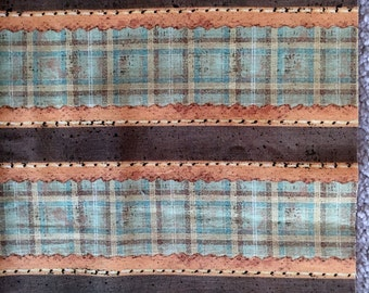 Quilt Minnesota 2013 Green Stripe Fabric