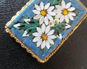 Made in Italy Mosaic pendant Daisy Floral Pendant
