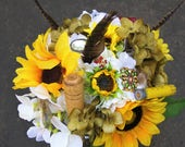 Listing for Tammy hunting brooch bouquet