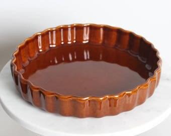 "Vintage Pfaltzgraff Quiche 9"" pie plater, baking dish #233 ceramic/Pottery"