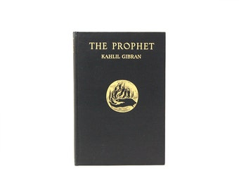 1952 The Prophet Kahlil Gibran Illustrated Iconic Books Spiritual Readings Traveling Lifes Path Midcentury Vintage Good Reads Thoughtful
