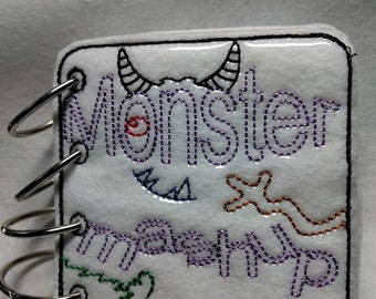 Monster Mash Up Coloring Book
