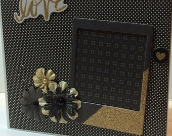 Wedding scrapbook premade album 8x8 love mini album