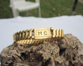 Carmen Monogramed Expansion Bracelet DFB Company