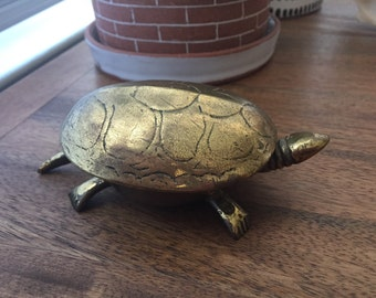 Make me an Offer! Brass Turtle Figurine
