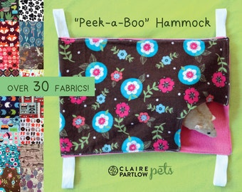 CHOOSE A FABRIC Peek-A-Boo Hammock