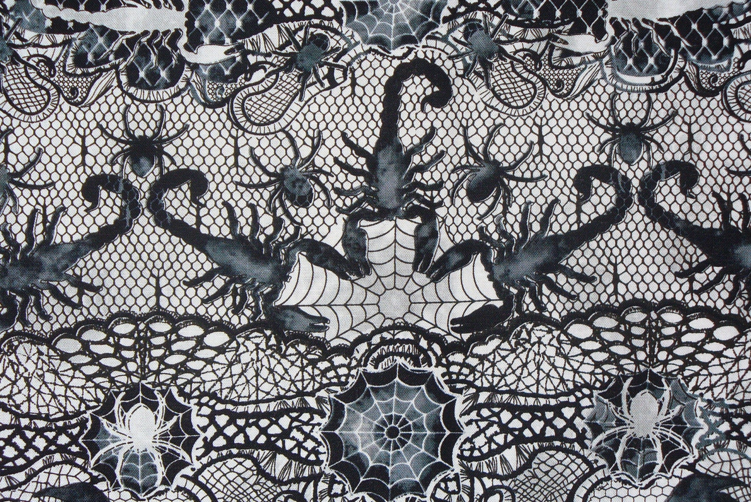 1300 - Halloween Lace Fabric