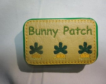 Bunny patch, bunnies in Altoid tin