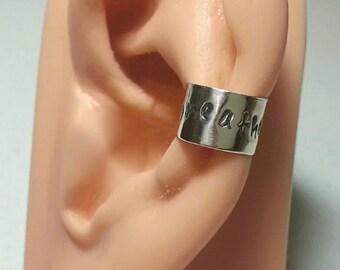 Sterling silver Ear Cuff Zodiac Cancer