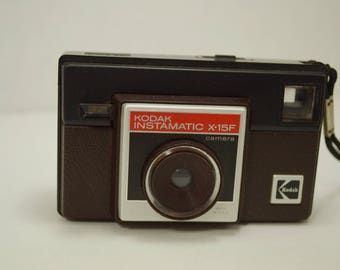 Vintage Kodak Instamatic X-15F Camera - We have a Vintage Camera for You