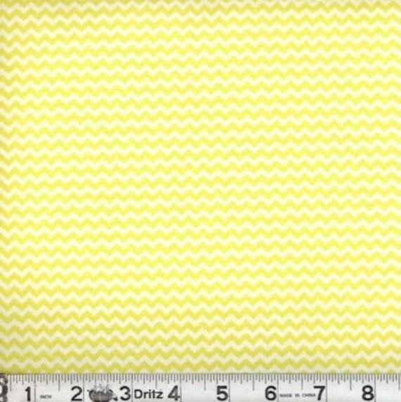 Mini chevron fabric,Yellow chevron fabric,Small chevron,100% cotton,Quilt fabric,Apparel fabric,Craft,Sold by FAT QUARTER INCREMENTS