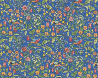 "A/W 2017 -  Liberty Tana Lawn fabric CATESBY - 17"" wide x 13""  (43cm x 33cm) - birds"