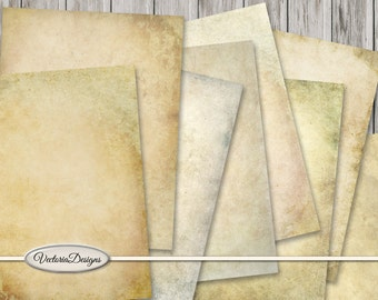 Soft Grunge Paper Pack printable 8.5 x 11 inch paper crafting scrapbooking digital paper instant download digital collage sheet - VDPAGR1530