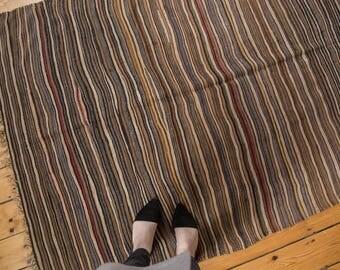 4.5x7 Vintage Moroccan Kilim Rug