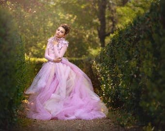 Couture high fashion custom gown