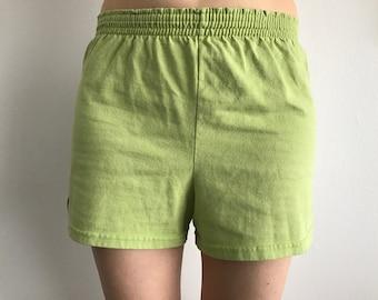 Green Soffe Shorts (Sz L)