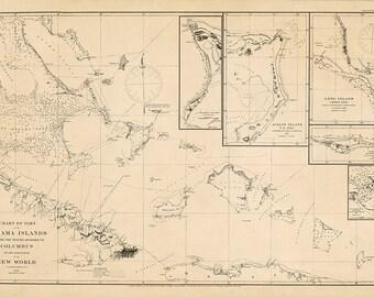 Bahama Islands – 1880
