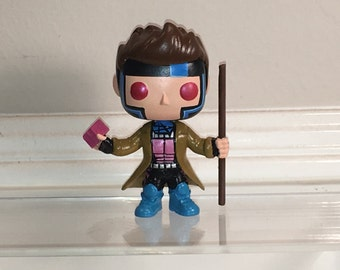 Made to order Gambit custom resin funko pop allow 3 weeks for shipping.
