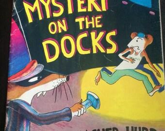 Mystery on the Docks vintage children's book