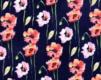 Poppies - Black from EE Schenck