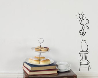 Wall Decal - The Chair And The Sky
