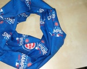 Chicago Cubs World Series Champions Infinity Scarf