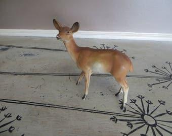 Vintage Plastic Woodland Deer Deer Figurine Hong Kong