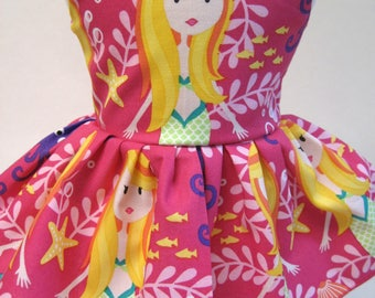 Mermaid Sisters, Sleeveless Dress for your 18 Inch Doll D