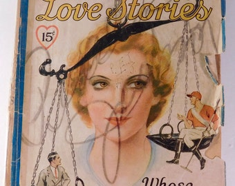 All-Story Love Stories, October 1935 - FREE SHIPPING