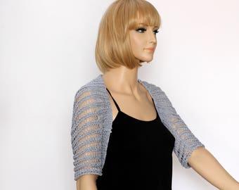 Knited bolero-shrug- pattern pdf Vest pattern