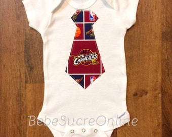 Cleveland Cavaliers Boys Bodysuit or Toddler Shirt